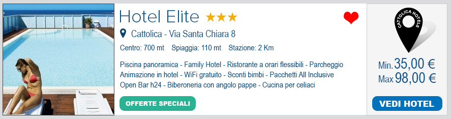 Family Hotel 3 stelle di Cattolica