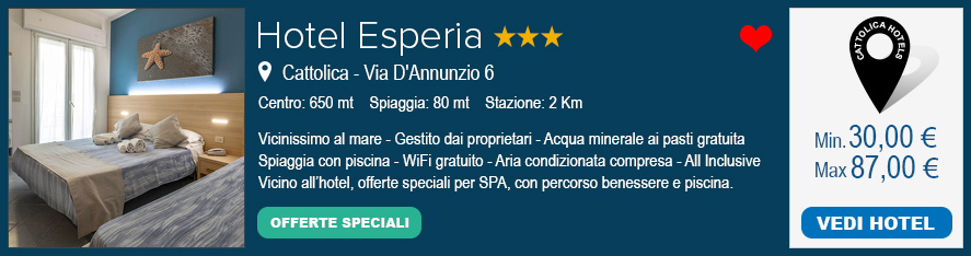 Family Hotel 3 stelle Cattolica
