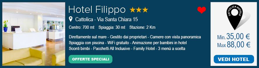 Hotel Filippo Cattolica