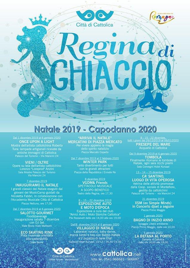 Il programma di Natale Capodanno 2019 2020 di Cattolica